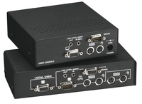 CATx KVM Long-Range Extender DeSkew – Serial, Audio