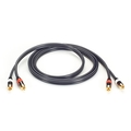 Stereo Audio Cable - (2) RCA to (2) RCA