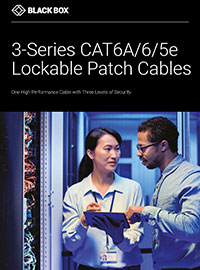 3 Series lockable patch cable brochure